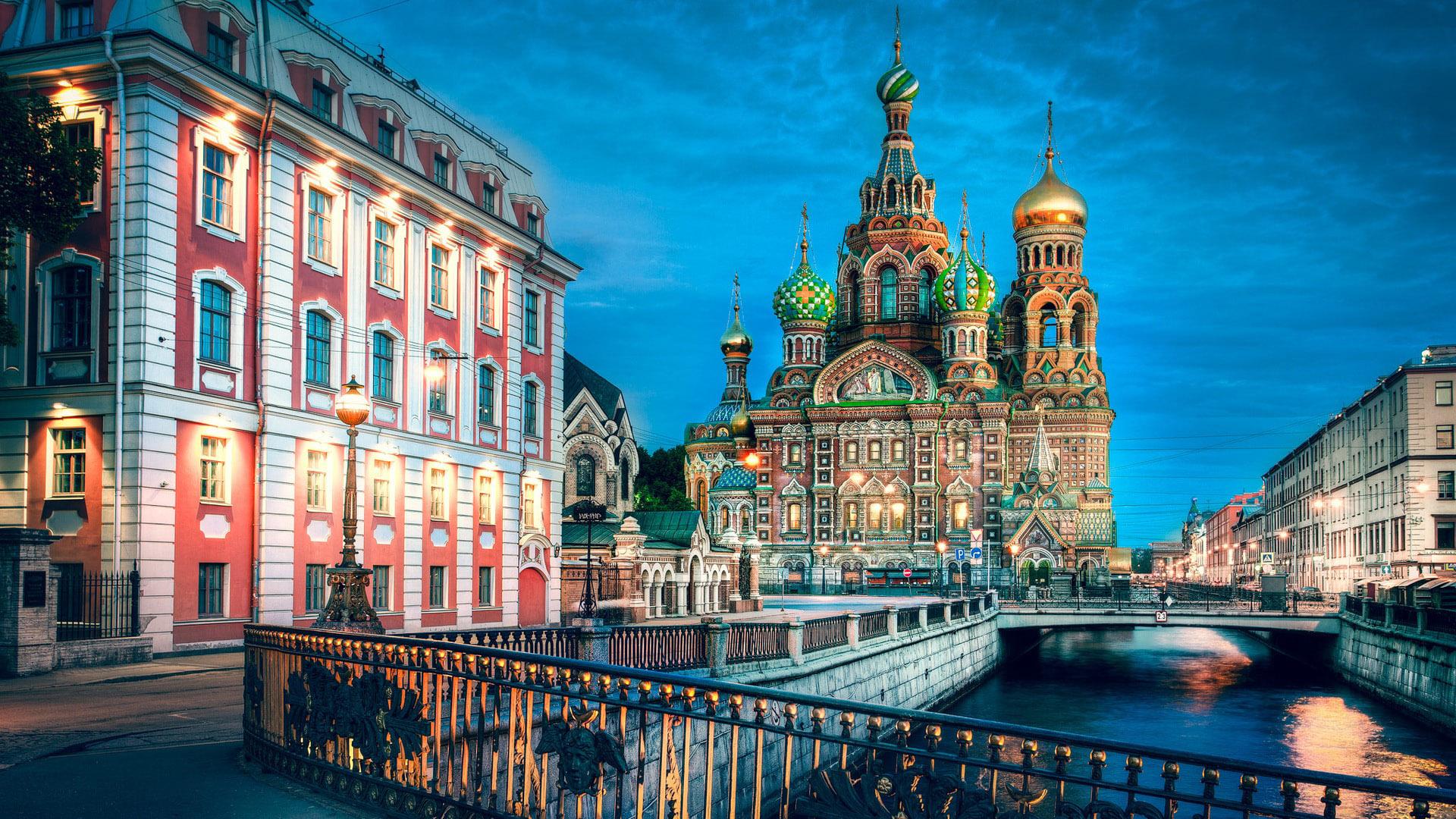 Πάσχα / Καλοκαίρι 2019 / Λευκές Νύχτες - Αγία Πετρούπολη - Μόσχα