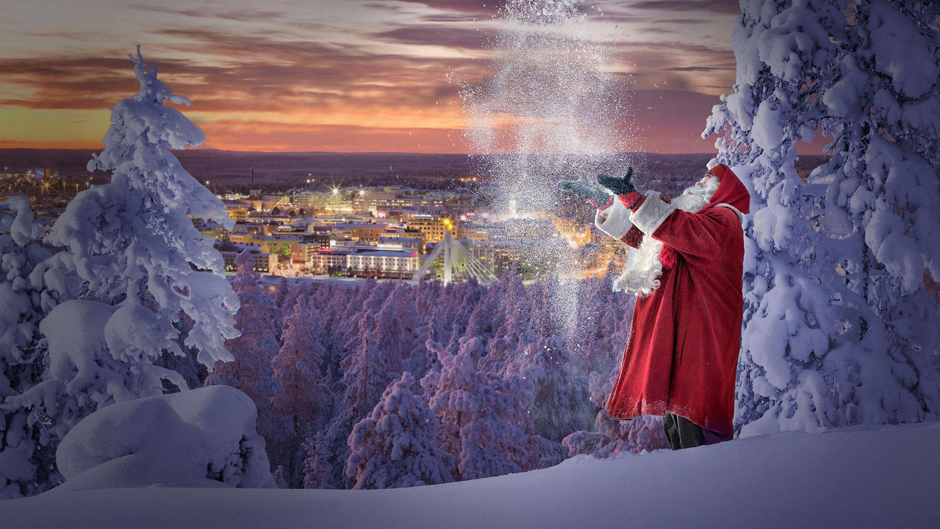 Χωριό του Άγιου Βασίλη / Λαπωνία / Ροβανιέμι - Χριστούγεννα / Πρωτοχρονιά
