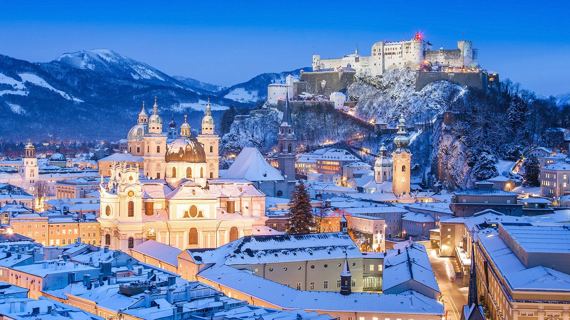 Αυστριακές Άλπεις / Σάλτζμπουργκ - Χριστούγεννα